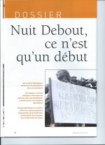 LE DOSSIER DU N°19 DE REGARDS CROISES