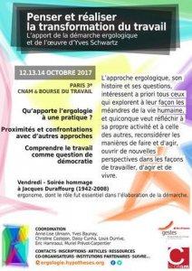 "Colloque International ""Penser et réaliser la transformation du travail"""